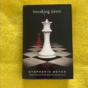 Twilight Breaking Dawn Hard cover